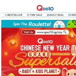 [Qoo10] Happy baby, happy life! Diapers, clothing, milk formula, accessories to make your baby happy & comfortable!