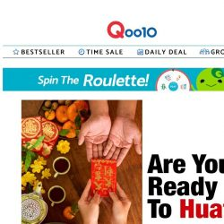 [Qoo10] It's the season to HUAT 🤑 Get your house ready for Chinese New Year!