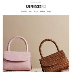 [Selfridges & Co] Open for this season's smile-inducing accessories