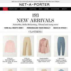[NET-A-PORTER] In need of some retail therapy, ? Discover today's What's New