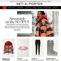 [NET-A-PORTER] Presenting #TheNETSET guide to ski style