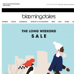 [Bloomingdales] Save up to 70% throughout the site