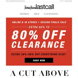 [Last Call] Season Finale: up to 60% off dresses, tops, pants, more
