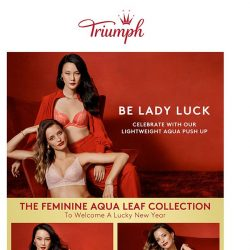 [Triumph] Special treats from Triumph to usher in a lucky Chinese New Year!