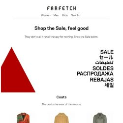 [Farfetch] Sale: the best coats, boots and more