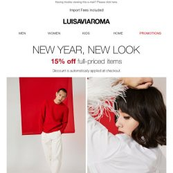 [LUISAVIAROMA] Celebrate Chinese New Year with our special offer!
