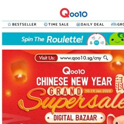 [Qoo10] LAST 2 DAY OF DIGITAL CNY SUPER SALE! UP to 40% OFF with our AirPods 2, Nintendo Switch, Wireless earbuds & many more!