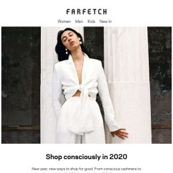 [Farfetch] Here's to shopping positively in 2020