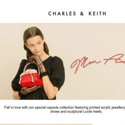[Charles & Keith] Valentine's Day Capsule Collection