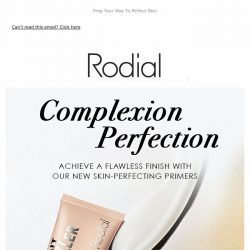 [RODIAL] New In | Introducing Instant Primers ✨