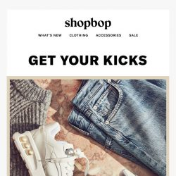 [Shopbop] ATTN: Calling all sneaker enthusiasts