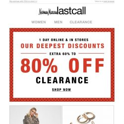 [Last Call] Extra 30%–50% off looks we know you'll love