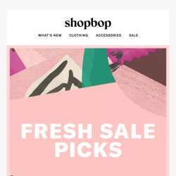 [Shopbop] Our latest sale styles are here