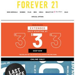 [FOREVER 21] WHAT? SAVE UP TO 80%!?