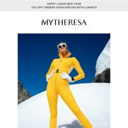 [mytheresa] Time to hit the slopes: best of skiwear