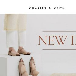 [Charles & Keith] Just In: Spring 2020 Collection