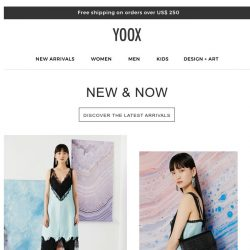 [Yoox] New & Now: Here's what's new!