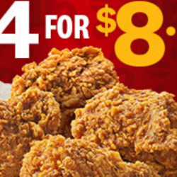 KFC: Get 4 Pcs of Nyonya Chicken for Only $8.80!