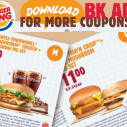 Burger King: Save Up to $5.70 with These E-Coupons!