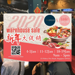 Far Ocean: CNY Warehouse Sale 2020 with Up to 70% OFF Seafood, Meat, Fresh Produce & Chinese New Year Goodies!