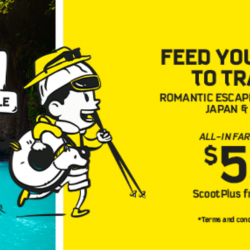 Scoot: GTG Sale to Vietnam, Japan & More from SGD53!