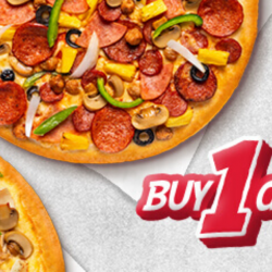Pizza Hut: Buy 1 Get 1 FREE Pizza When You Order Delivery Online or Via App!