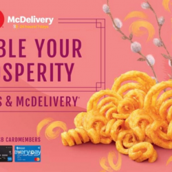 McDonald's: Enjoy FREE Twister Fries (M) with This McDelivery Promo Code!