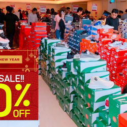 LINK: Festive Warehouse Sale with Up to 80% OFF Shoes, Bags, Accessories & More from Adidas, Converse, Flip Flop, Nike, Skechers & More!