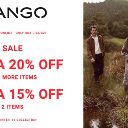 Mango: Enjoy Extra 20% OFF When You Buy 3 Items or More!