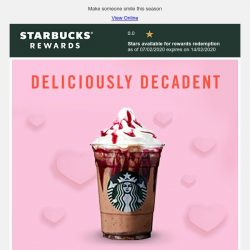 [Starbucks] Love from me to you ❤️