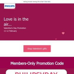[PHILIPS] Love is in the air