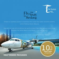 [Berjaya Hotels & Resorts EDm] ATR Package - Half Board | The Taaras Beach & Spa Resort