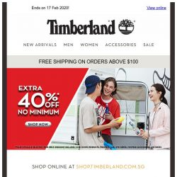 [Timberland] 💖 Valentine's Day Sale ends today