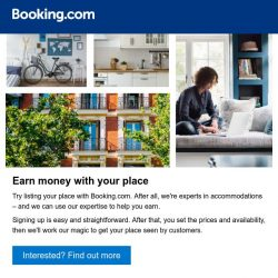 [Booking.com] List your place with the accommodation experts