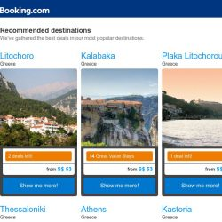 [Booking.com] Been a while since Litochoro? Find your next trip today