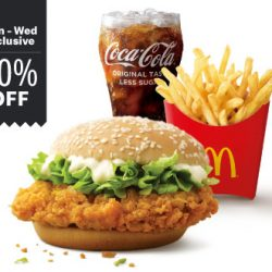 McDonald's: Enjoy 20% OFF McSpicy Extra Value Meal on McDelivery!