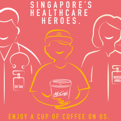 McDonald's: Healthcare Staff Enjoy a FREE Cup of Coffee, Cappuccino, Latte or Tea!