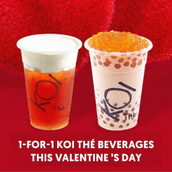 KOI Thé: Enjoy 1-for-1 Offer on Selected Bubble Teas with OCBC Pay Anyone!