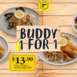 The Manhattan FISH MARKET: Enjoy These 1-for-1 Deals with Your Buddy!