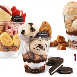 Häagen-Dazs: Enjoy 1-for-1 Parfait Deal!