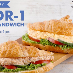 Delifrance: Enjoy 1-for-1 Classic Mayo Sandwich!