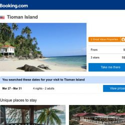 [Booking.com] Deals in Tioman Island from S$ 93