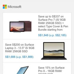 [Microsoft Store] Save up to 32% on select Surface devices | Shop Now