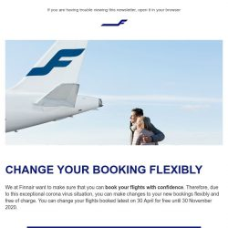 [Finnair] Book with confidence