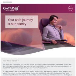 [Qatar] Travel with confidence