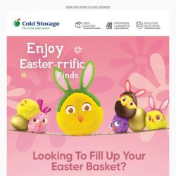 [Cold Storage] Enjoy Easter-rrific Finds This Easter! 🐰