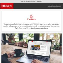 [Emirates] Our response to UAE government directives on air travel