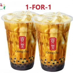 Gong Cha: Buy 1 Get 1 FREE for Brown Sugar Fresh Milk with Pearl / Brown Sugar Fresh Milk Tea with Pearl at Takashimaya Outlet!
