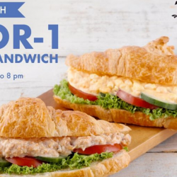 Delifrance: Enjoy 1-for-1 Classic Sandwich from 12pm to 8pm!
