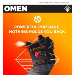 [HP Singapore] Play At Your Best From Anywhere With Omen By HP